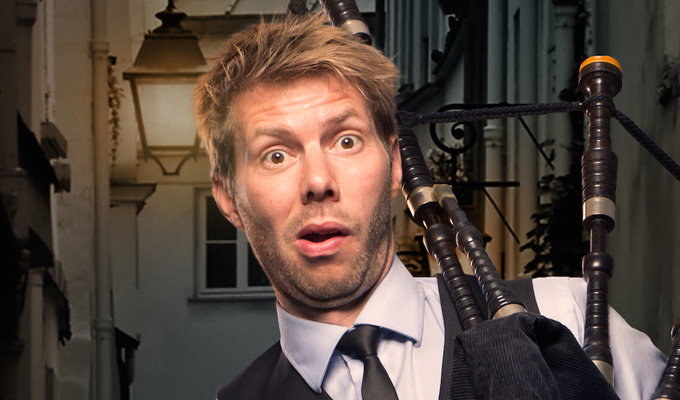 Image of Interview: Danish Bagpipe Comedian