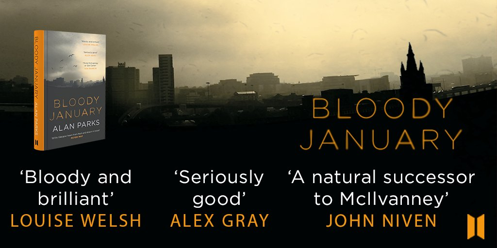 Image of Alan Parks – Bloody January