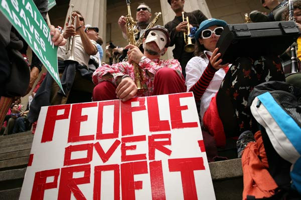 Image of Occupy Wall Street – an infectious movement bringing us back to the original financial powerhouse?