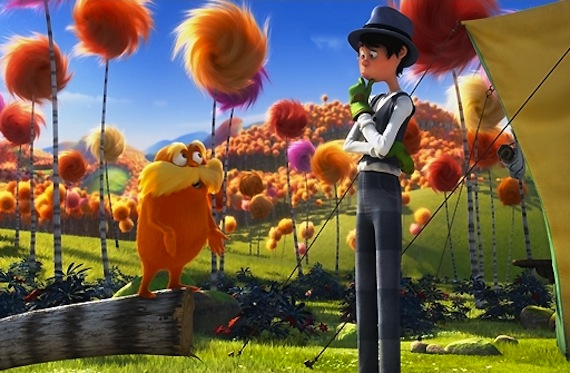 Image of Dr Seuss' The Lorax