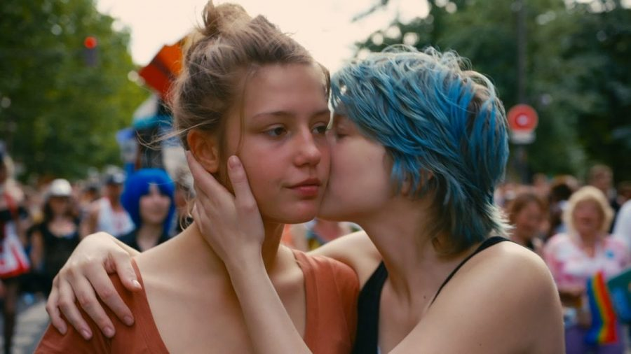 Image of Blue Is the Warmest Colour