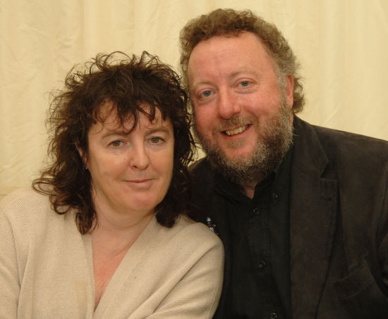 Image of Carol Ann Duffy and John Sampson