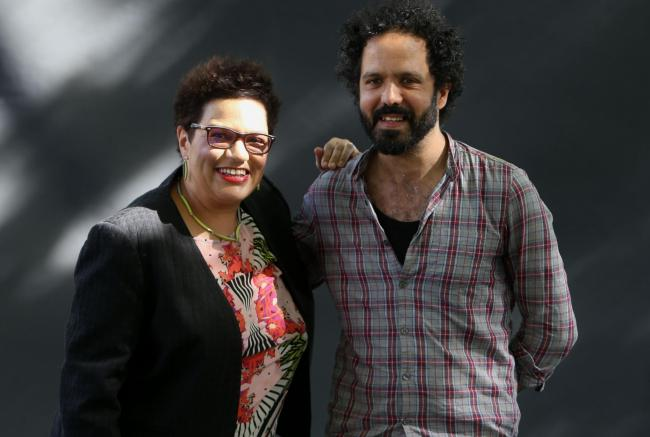 Image of Zaffar Kunial with Jackie Kay: Between the Dee and the Don