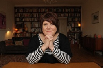 Image of Louise Welsh at the Culture Café