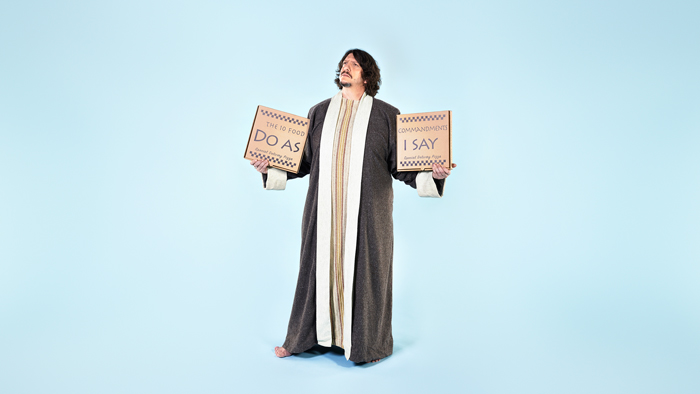 Image of Jay Rayner – The Ten (Food) Commandments
