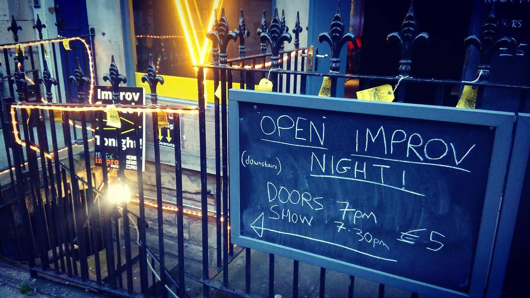 Image of Improv-ing Edinburgh: the emergent fast-growing scene in Scotland's capital