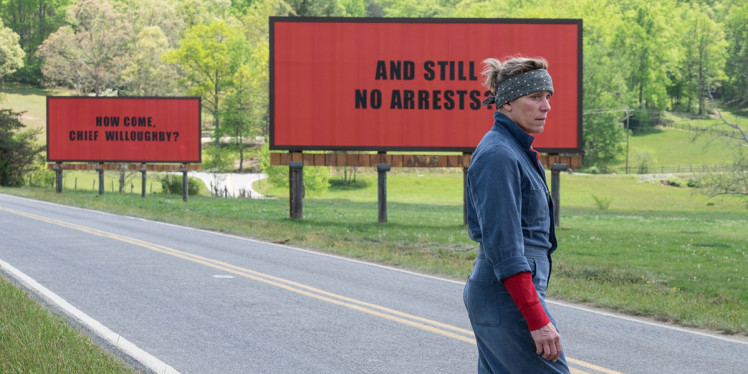 Image of Three Billboards Outside Ebbing, Missouri