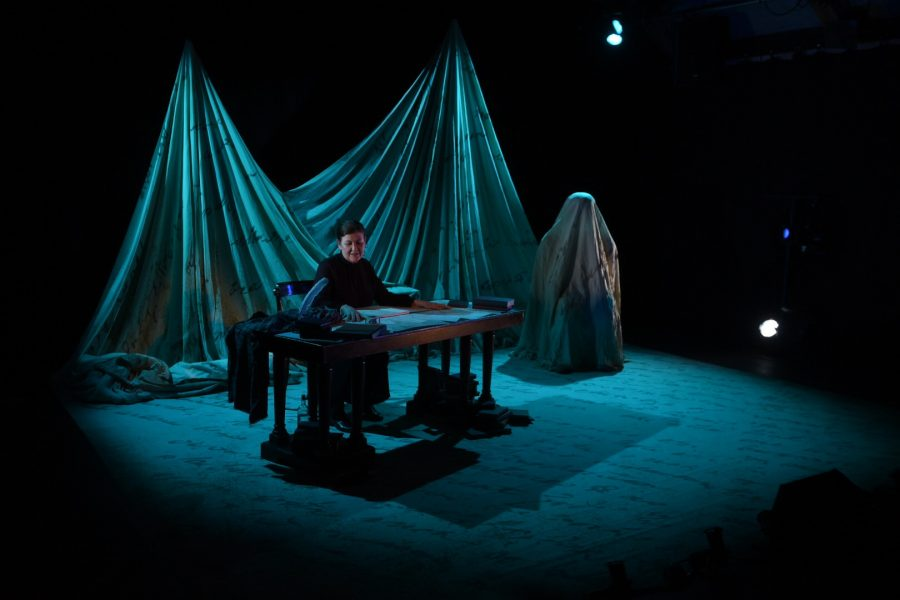 The Monster & Mary Shelley (2) - Photo by Marc Marnie
