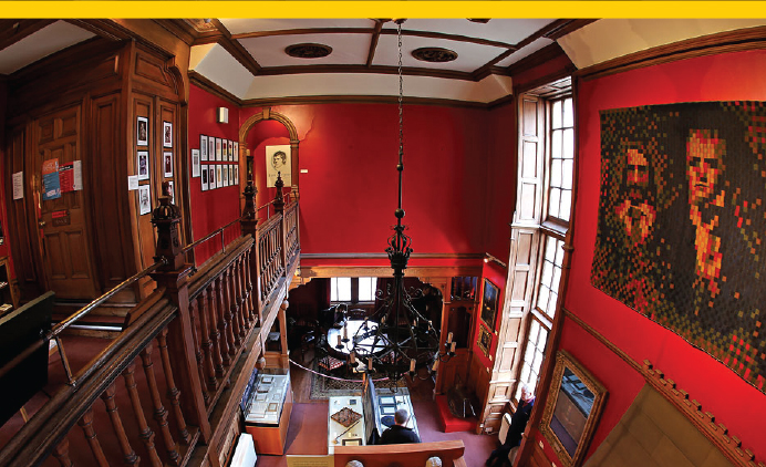 Image of The Secret Room @ The Writers' Museum
