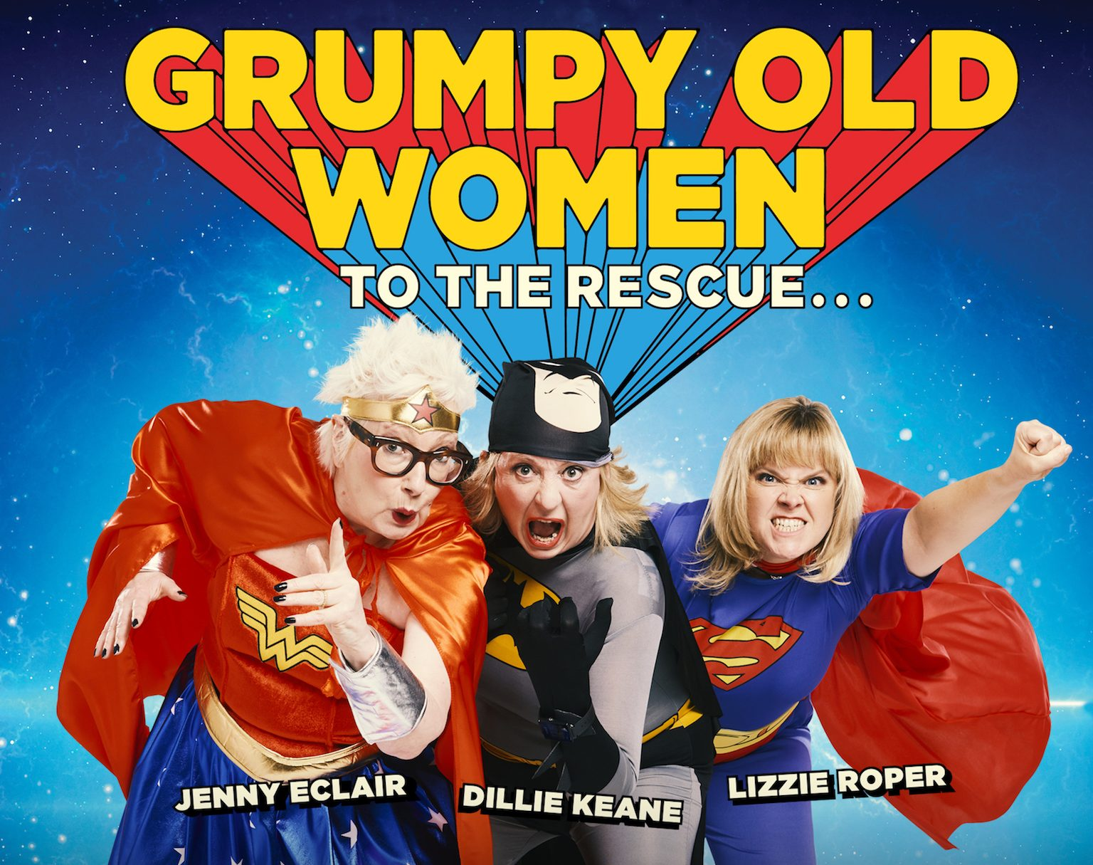 Image of Grumpy Old Women To The Rescue…