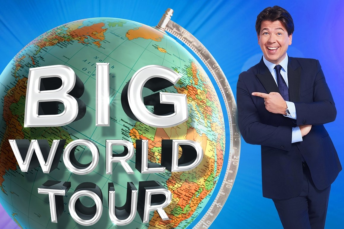 Image of Michael McIntyre's Big World Tour
