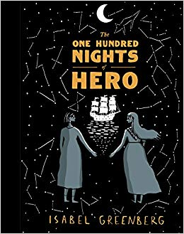 Image of The One Hundred Nights of Hero by Isabel Greenberg