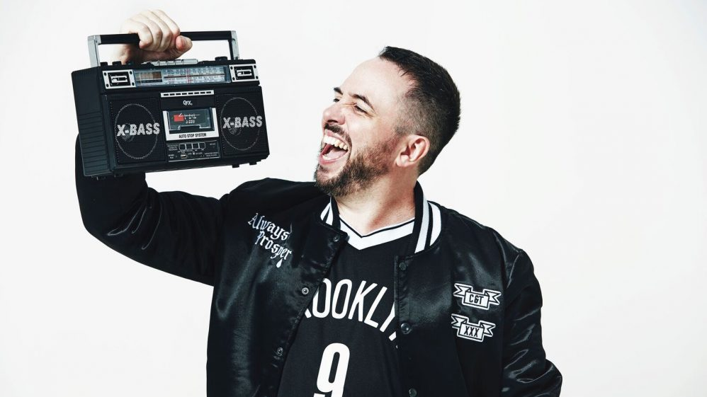 Image of Abandoman (AKA Rob Broderick) – Pirate Radio