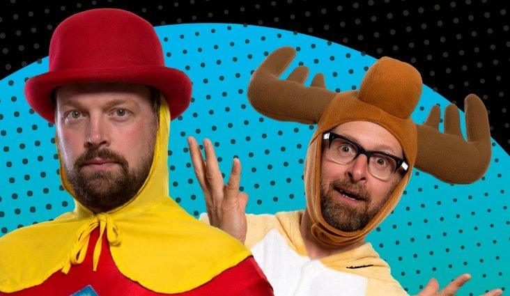 Captain Cauliflower and Marvin the Mischievous Moose