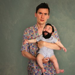Image of Matt and Ollie are… Dads!