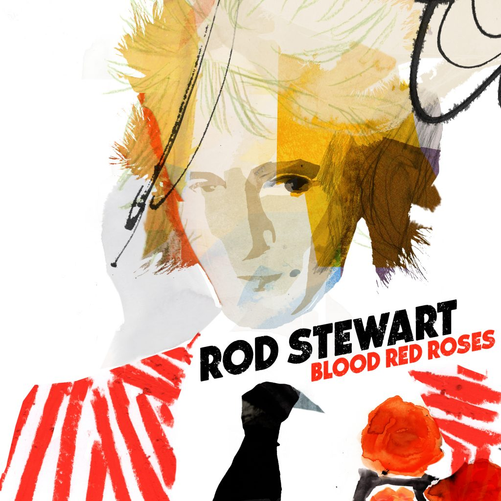 Image of Rod Stewart – Blood Red Roses