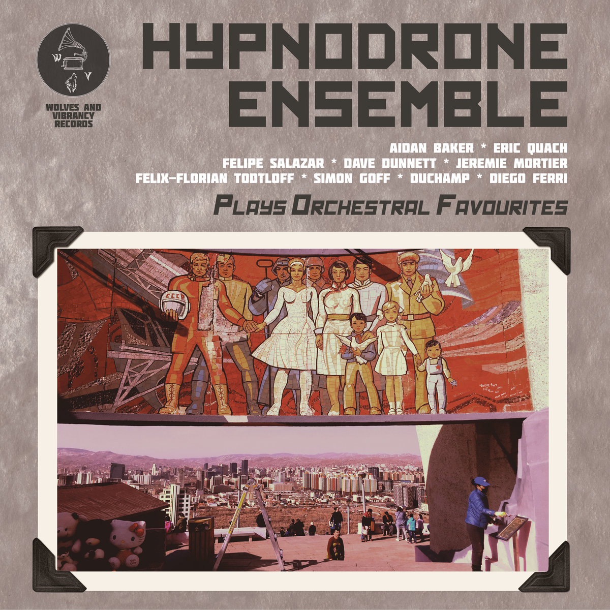 Image of Hypnodrone Ensemble – Plays Orchestral Favourites