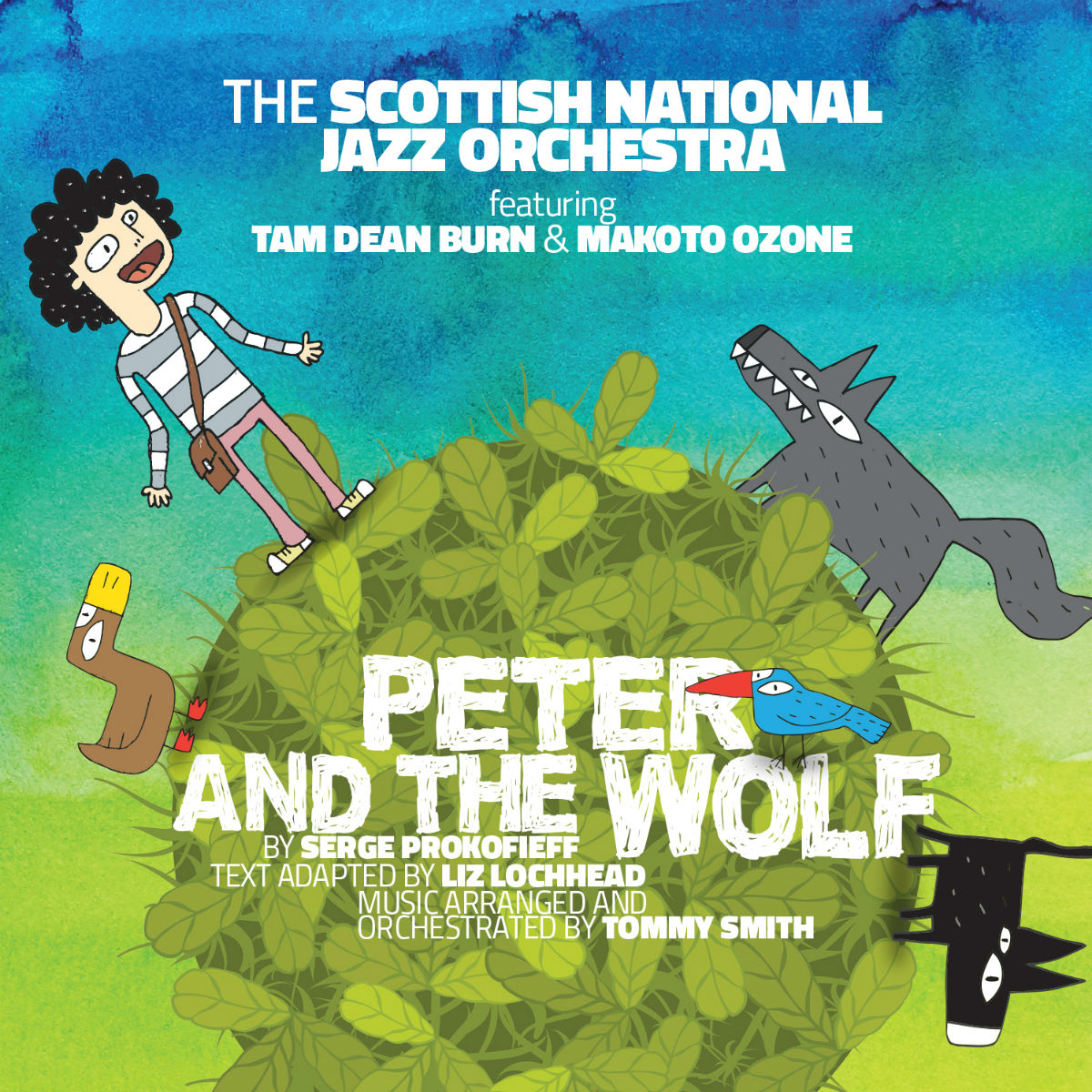 Image of The Scottish National Jazz Orchestra – Peter and the Wolf