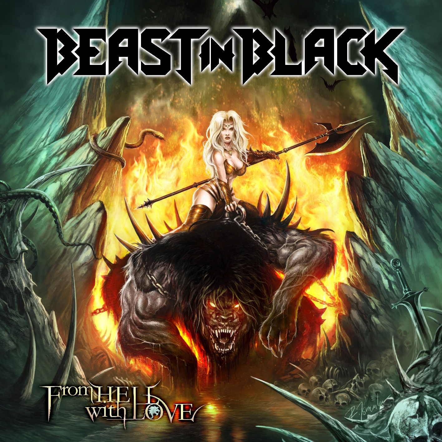Image of Beast In Black – From Hell With Love