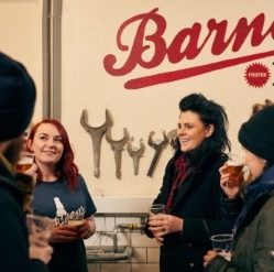 Barney's Beer tours at Summerhall