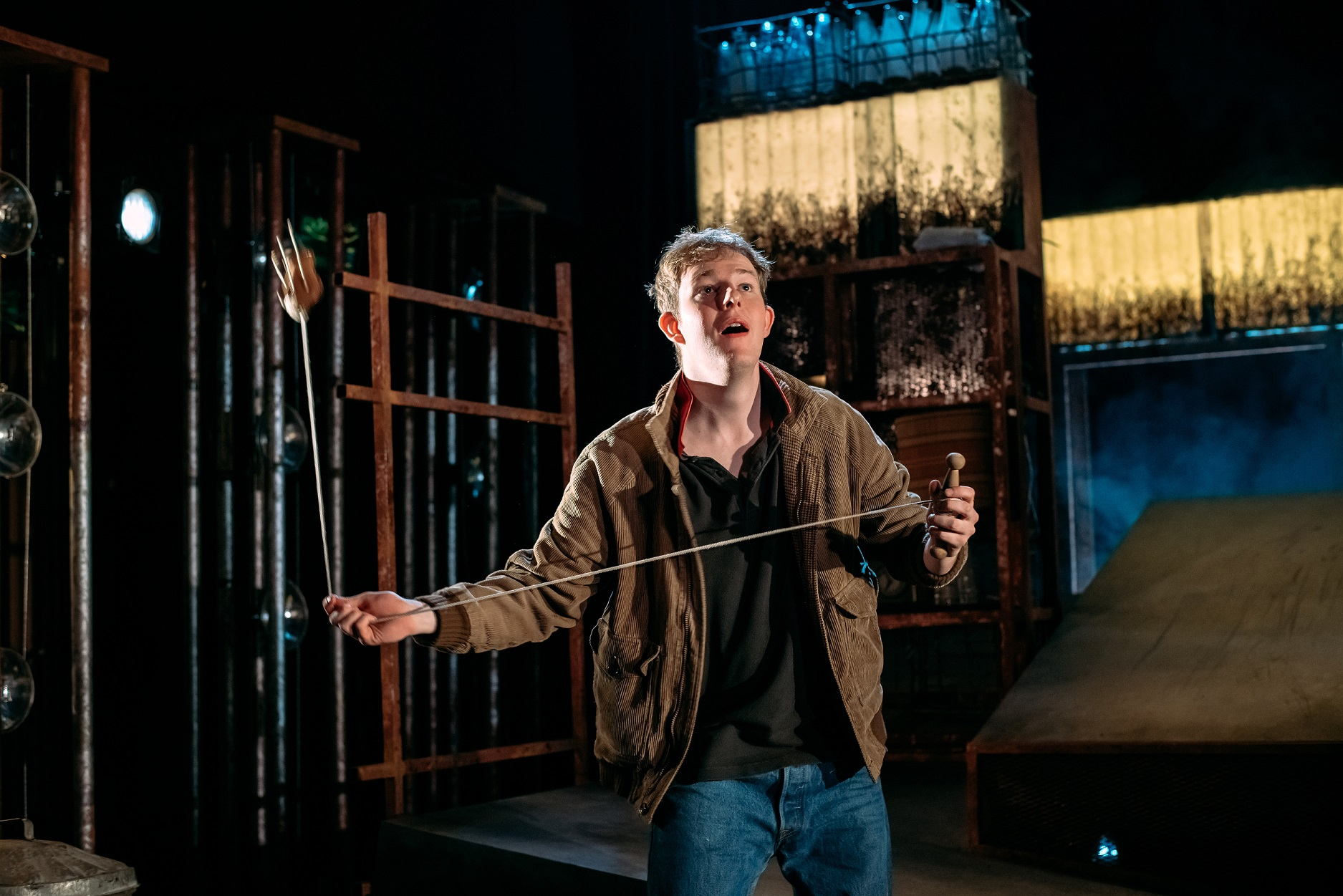 Danny Hughes as Billy in Perth Theatre's Kes (2)
