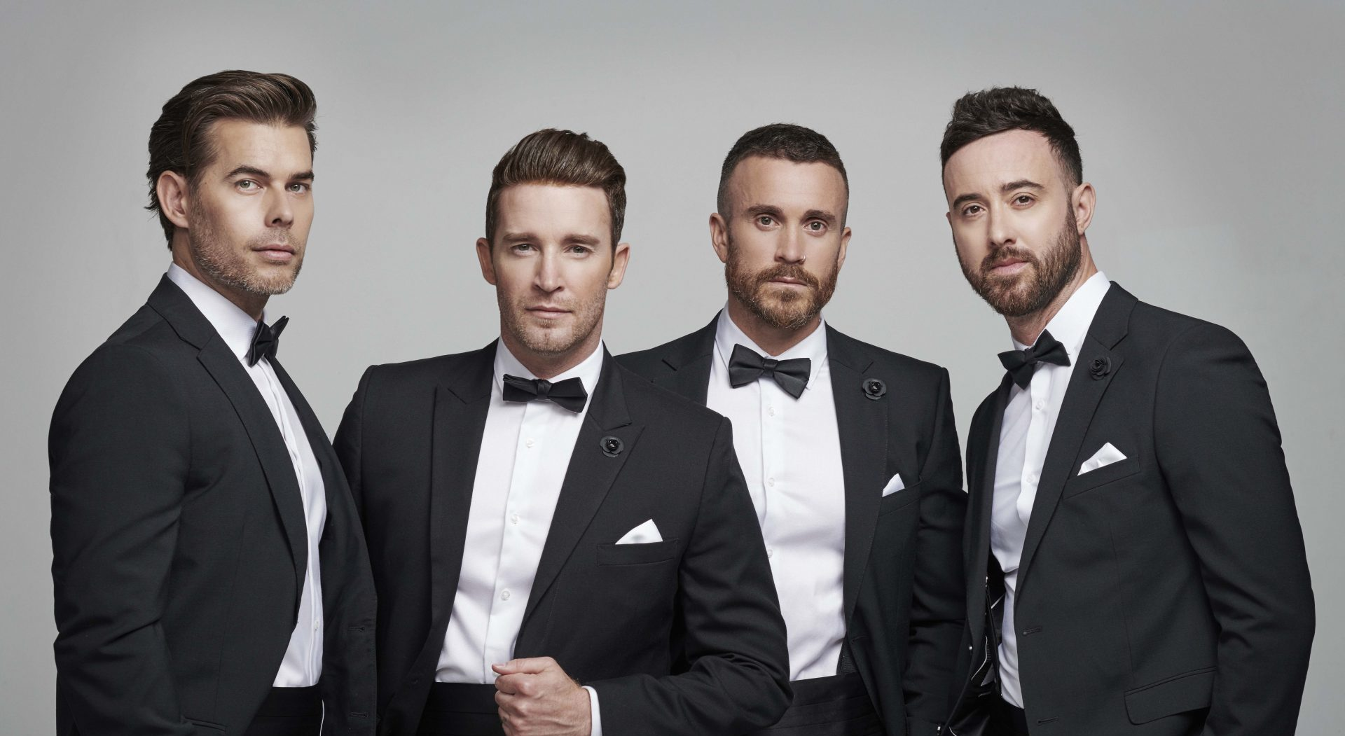 The Overtones - Mike Crawshaw, Jay James, Darren Everest and Mark Franks