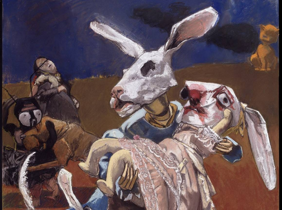 War 2003 by Paula Rego born 1935