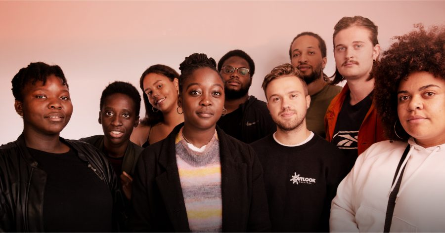 Cassie Kinoshi (Centre) with SEED Ensemble