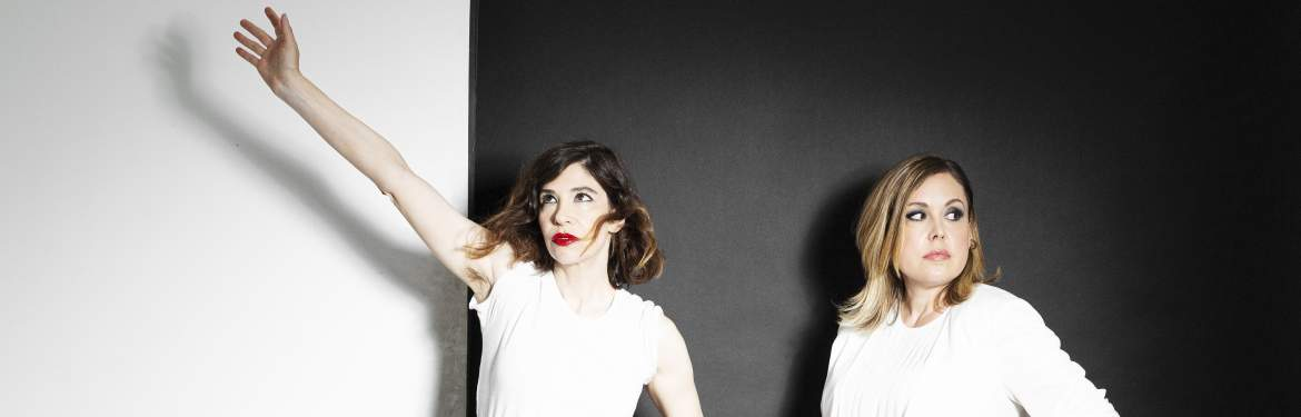 Sleater Kinney as duo