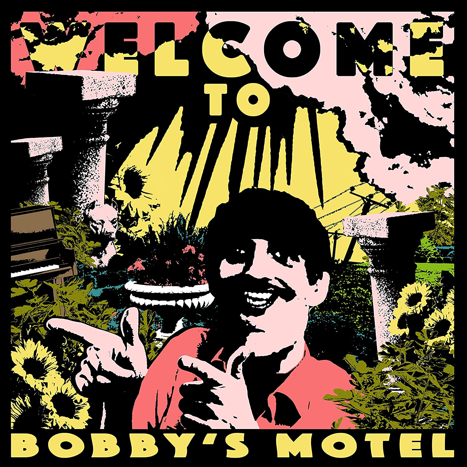 Pottery Welcome To Bobby's Motel