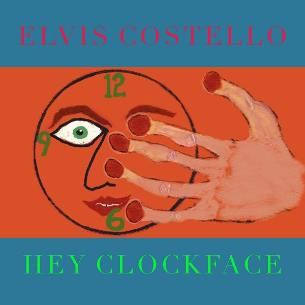 Elvis Costello Hey Clockface