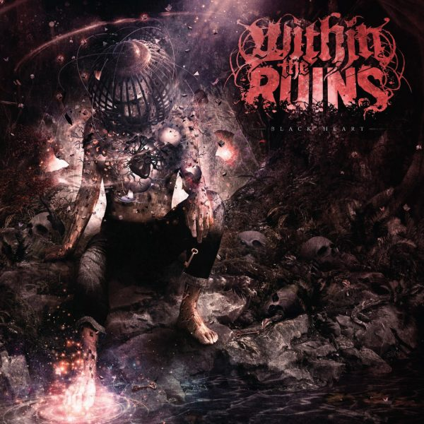 Within The Ruins - Blackheart album cover
