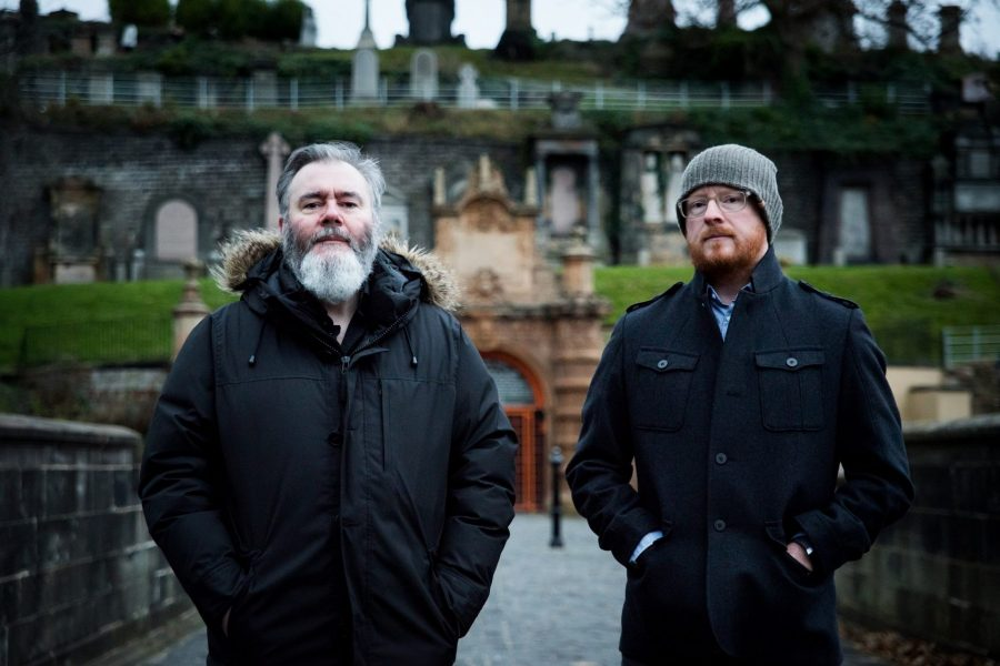 Arab Strap, Aiden Moffat and Malcolm Middleton, photo Kat Gollack